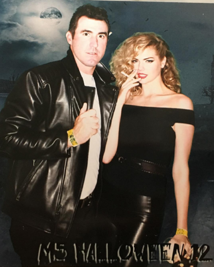 <p>Justin Verlander and Kate Upton (Instagram) </p>