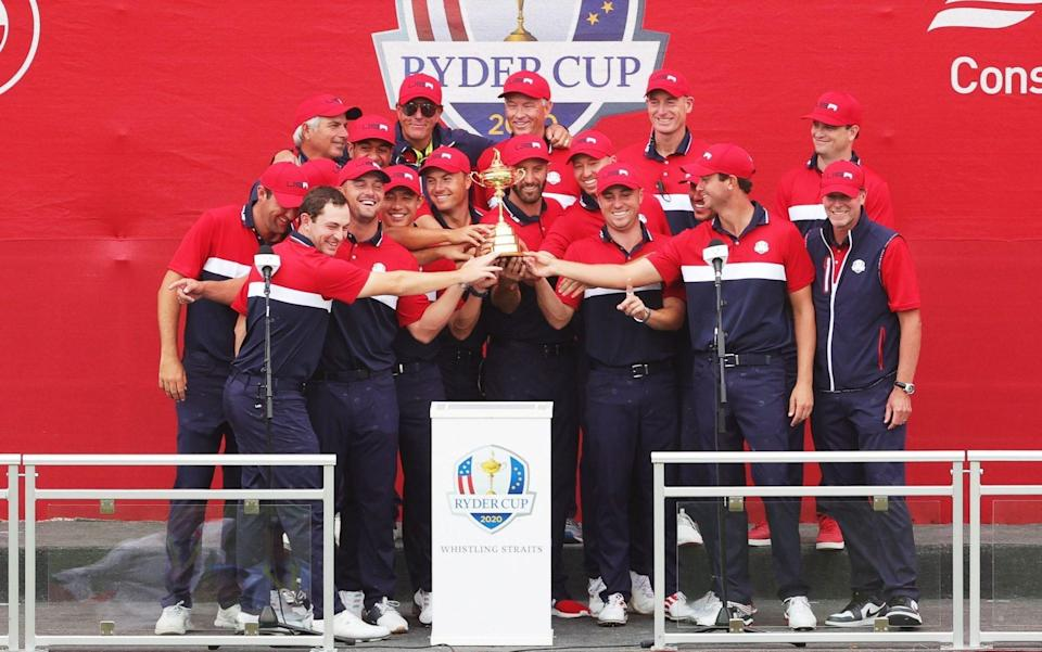 Ryder Cup 2021: Steve Stricker hails 'new era' for Team USA after resounding record win over Europe - Getty Images