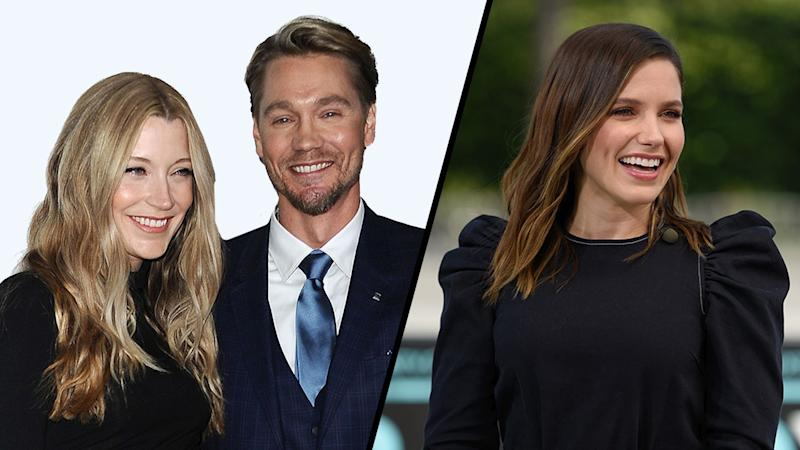 Chad Michael Murray's Wife Sarah Roemer Reacts to Sophia Bush's Marriage Comments