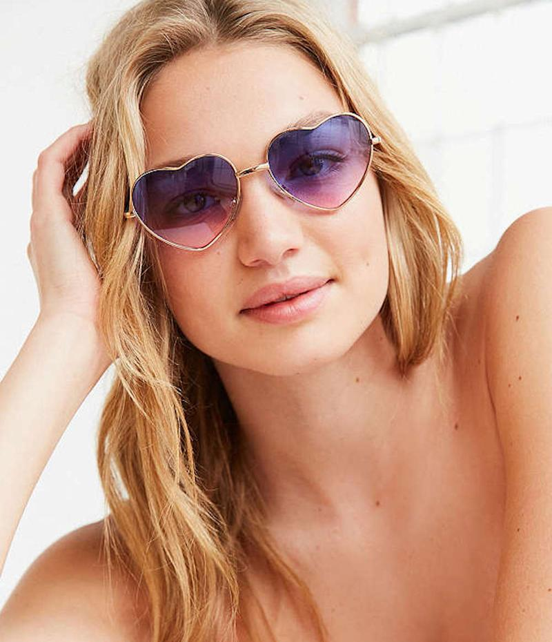 From heart-shaped sunnies to bedazzled shades, here are 16 items to shop for National Sunglasses Day