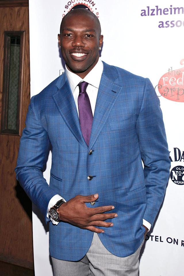 Terrell Owens turns 38 on December 7.