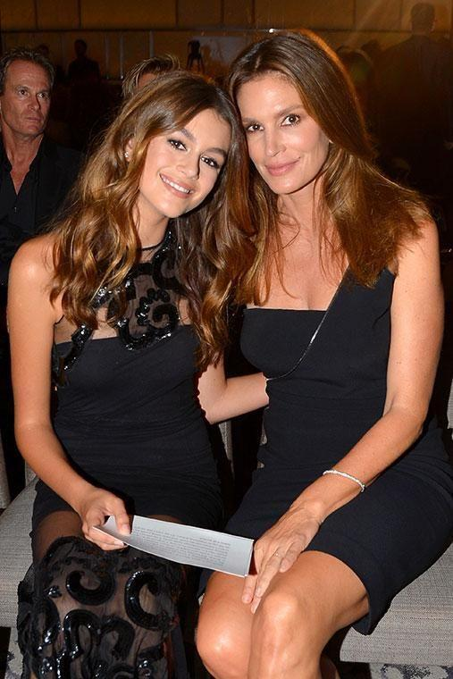 <p>When your mum's a supermodel, good genes are pretty much guaranteed – and Cindy Crawford's daughter Kaia has clearly won the lottery. Photo: Getty </p>