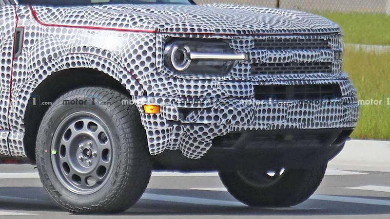 Ford Bronco Sport Spy Photo