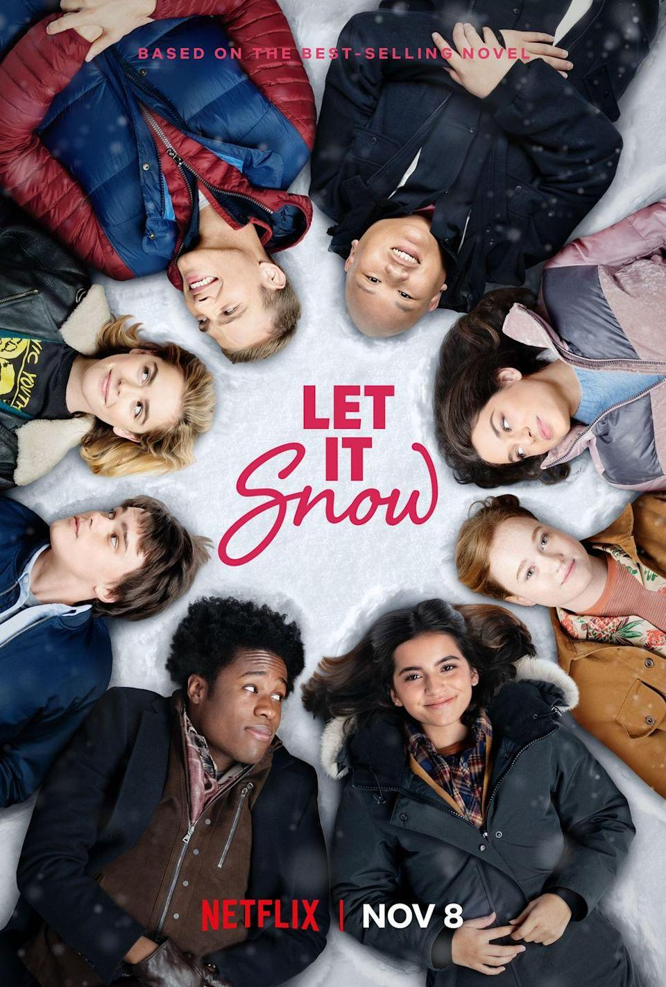 """<p>Based on the YA novel of the same name, this holiday rom-com tells the story of an epic snowstorm in a quiet Midwestern town and the even more epic party that unfolds at a local Waffle Town, changing the lives of the town's high school seniors forever.</p><p><a class=""""link rapid-noclick-resp"""" href=""""https://www.netflix.com/title/80201542"""" rel=""""nofollow noopener"""" target=""""_blank"""" data-ylk=""""slk:STREAM NOW"""">STREAM NOW</a></p>"""