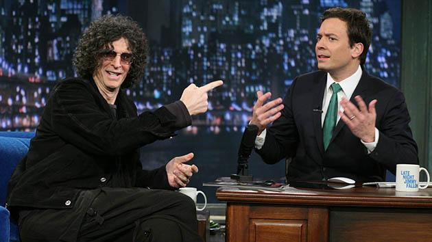 Late Night with Jimmy Fallon: Howard Stern