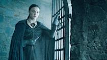 <p>Sansa's cloak also underscores her desire to be invisible. Having been on the receiving end of the Boltons' cruelty, she wants to stay out of sight as much as possible.</p>