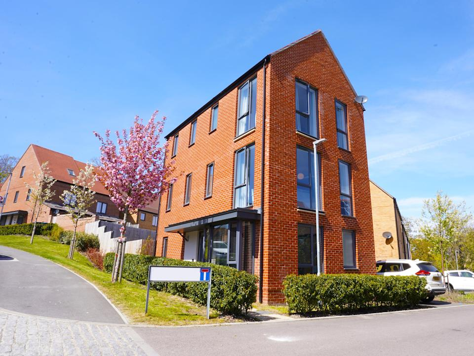 The 3-bedroom townhouse in Coulsdon, Surrey, being raffled off for £3 by the Palmer family (Yumi Palmer)
