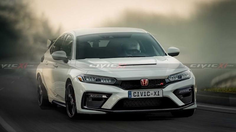 2022 Honda Civic Typ R Rendering