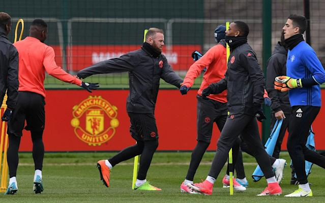 Wayne Rooney omitted from Man Utd squad for Europa League tie with Anderlecht