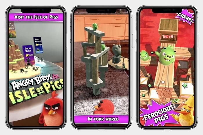 juego angry birds ar isle of pigs realidad aumentada store screens 700x467 c