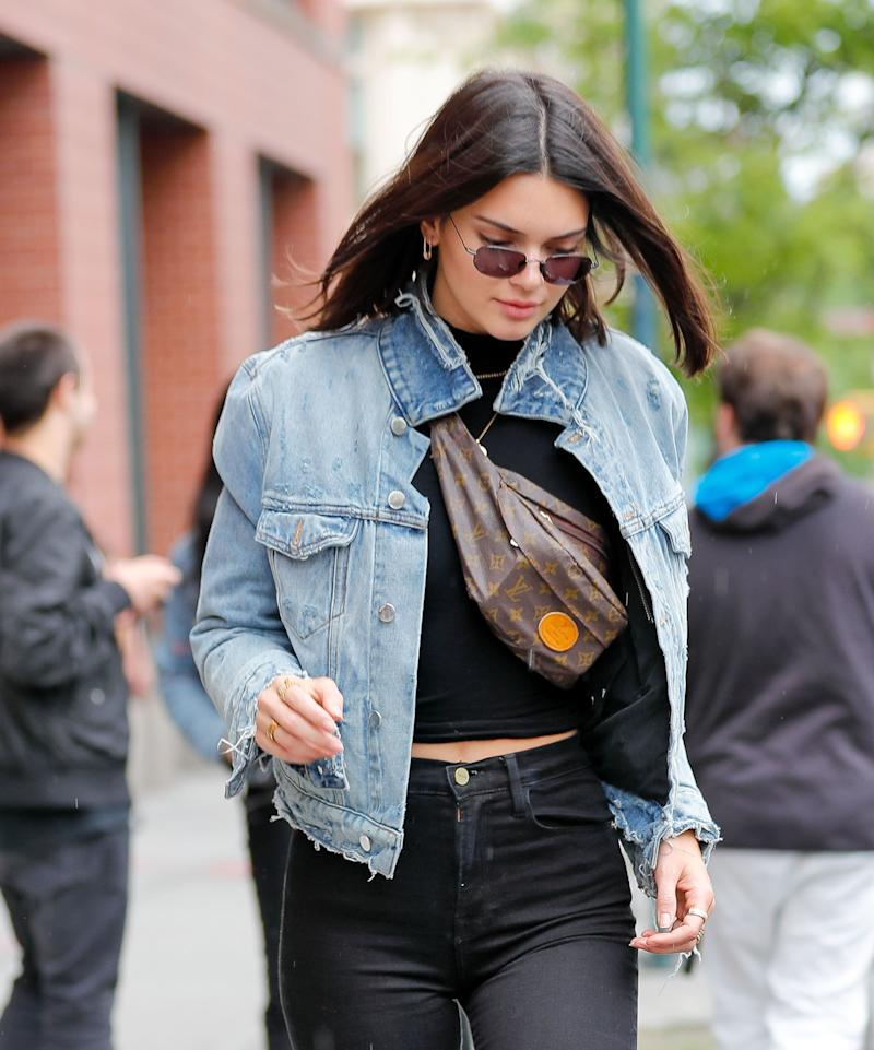 Kendall Jenner out and about in NYC on June 4.