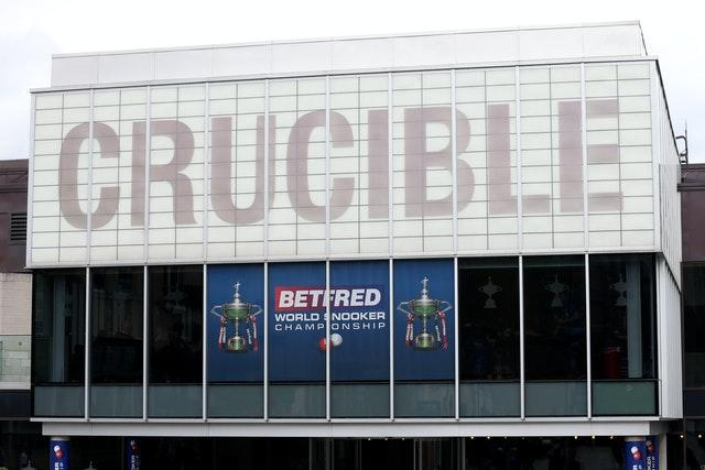 The Crucible in Sheffield