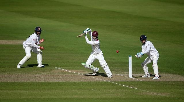 Eddie Byrom was outstanding at Lord's
