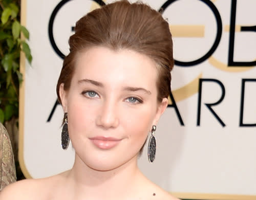 <p>This 17-year-old was lucky enough to walk the Golden Globes red carpet in 2014 (it helps when mom is nominated). The following day, she and her mother hit Disneyland. (Photo by Jason Merritt/Getty Images) </p>