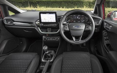 Ford Fiesta (new for mid-2017) dash