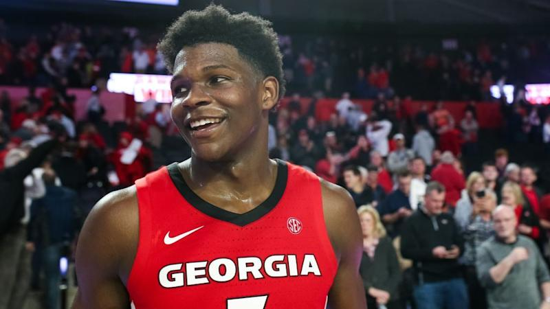 Georgia's Anthony Edwards, potential No. 1 pick, declares for 2020 NBA Draft