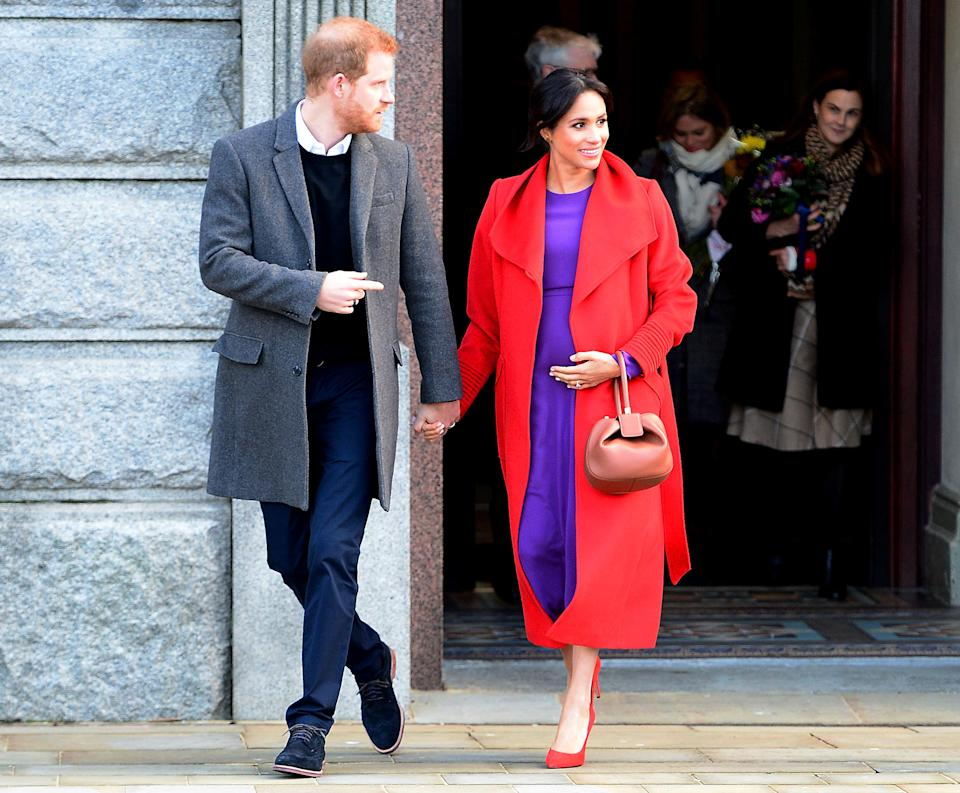 Harry and Meghan in Birkenhead on Monday [Photo: Getty]