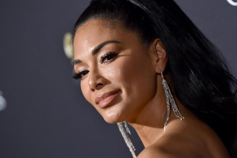 """BEVERLY HILLS, CALIFORNIA - JANUARY 25: Nicole Scherzinger attends the Pre-GRAMMY Gala and GRAMMY Salute to Industry Icons Honoring Sean """"Diddy"""" Combs at The Beverly Hilton Hotel on January 25, 2020 in Beverly Hills, California. (Photo by Axelle/Bauer-Griffin/FilmMagic)"""