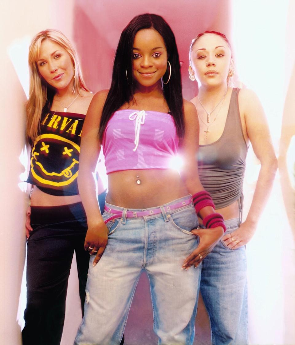 <p>Then: Let's face it, who could keep up with the ever changing line-up of the Sugababes? Keisha became one of the most well known girls in the group after being one of the longest reining members – you go girl. [Photo: Getty] </p>