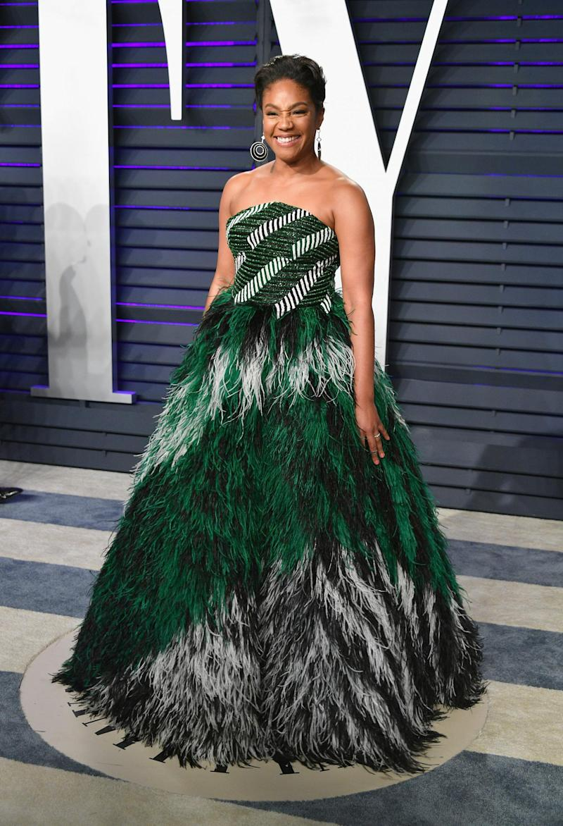 Tiffany Haddish wearing Rami Kadi (Getty Images)
