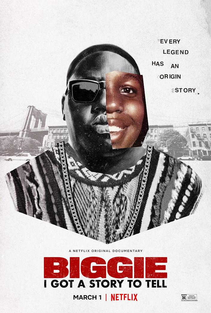"""""""Biggie: I Got A Story To Tell"""" debuts on Netflix on March 1, 2021."""