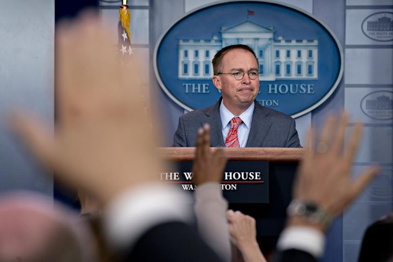 Trump Allies Craft List of Potential Mulvaney Replacements