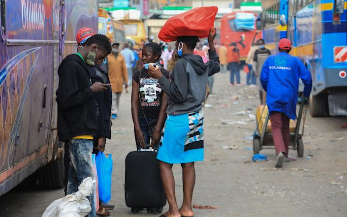 Three weeks ago Kenyatta lifted movement restrictions around the capital and key cities and announced international flights would resume on August 1. - Daniel Irungu/EPA-EFE/Shutterstock