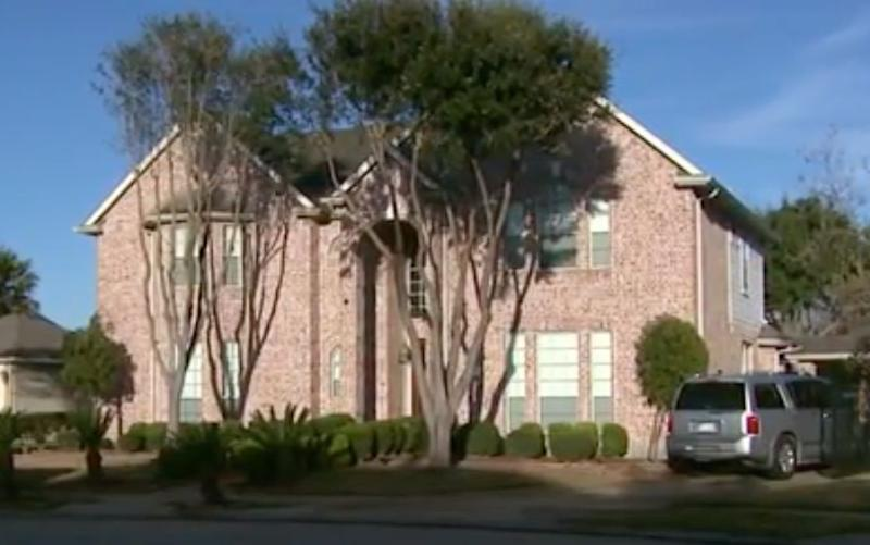 A Texas couple has been ordered to pay a Nigerian woman $121,000 in restitution after keeping her as a slave in this home, authorities said. (Photo: KDAF)