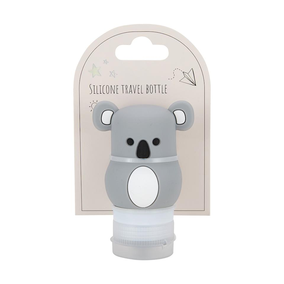 The shopped reported that the product in question is a koala-shaped silicon travel bottle. Photo: Kmart.