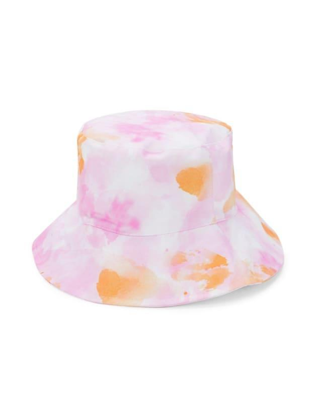 """<p>Marcus Adler Tie-dyed Bucket Hat, $25 (from $32), <a href=""""https://rstyle.me/+IQ9edhHdIBGgZigwbyn1tQ"""" rel=""""nofollow noopener"""" target=""""_blank"""" data-ylk=""""slk:available here"""" class=""""link rapid-noclick-resp"""">available here</a>. </p>"""
