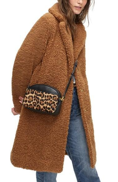 <p>You may never want to take this <span>J.Crew Teddy Topcoat</span> ($248) off.</p>