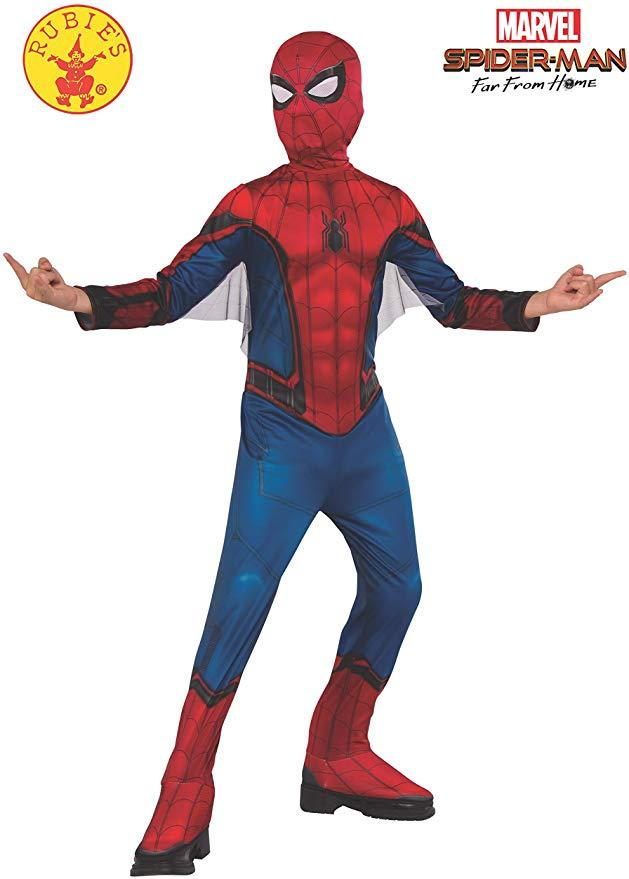 Rubie's Marvel Spider-Man Far from Home Child's Costume & Mask. Image via Amazon.