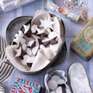 """<p>Packed together in a pretty new or vintage tin, these elegant mints are an ideal gift for the host of a dinner party.</p><p><strong>Recipe: <a href=""""https://www.goodhousekeeping.com/uk/food/recipes/a535445/peppermint-creams/"""" rel=""""nofollow noopener"""" target=""""_blank"""" data-ylk=""""slk:Peppermint creams"""" class=""""link rapid-noclick-resp"""">Peppermint creams</a></strong> </p>"""