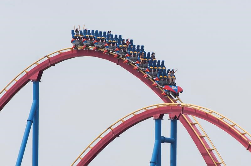 Amusement parks welcome back fewer guests with new pandemic precautions