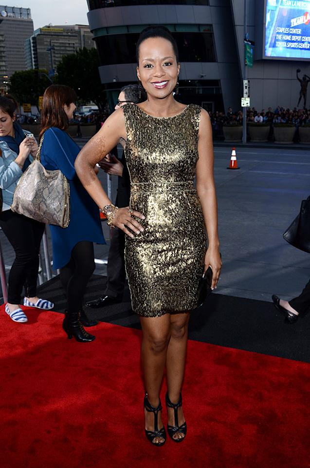 Tempestt Bledsoe attends the 34th Annual People's Choice Awards at Nokia Theatre L.A. Live on January 9, 2013 in Los Angeles, California.