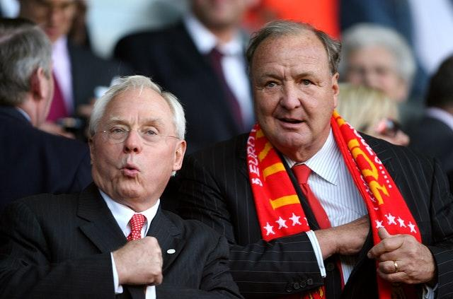 George Gillett (left) and Tom Hicks opposed selling to FSG