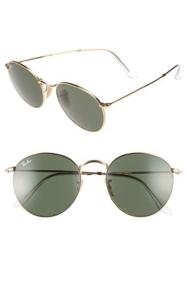 <p>They'll love the current yet classic silhouette of these <span>Ray-Ban Icons 53mm Retro Sunglasses</span> ($154).</p>