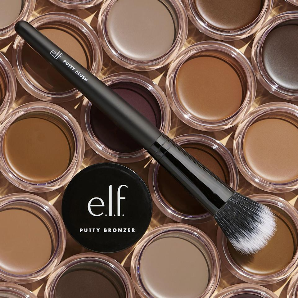 <p>This <span>e.l.f. Putty Bronzer</span> ($6) has a semi-matte finish, and the cream formula is perfect for summer.</p>