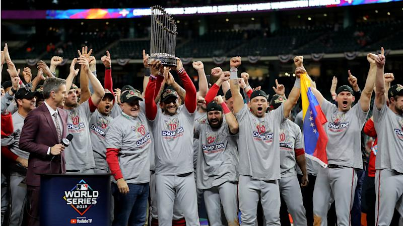Nationals' World Series win boosts Game 7 ratings