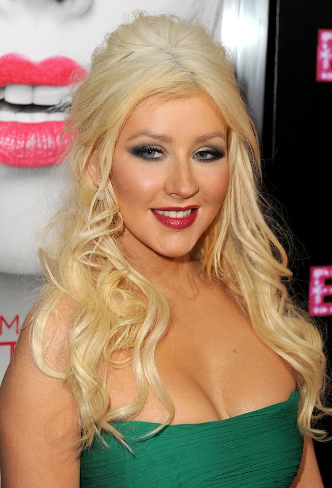 "<a href=""http://movies.yahoo.com/movie/contributor/1800409839"">Christina Aguilera</a> at the Los Angeles premiere of <a href=""http://movies.yahoo.com/movie/1810125282/info"">Burlesque</a> on November 15, 2010."