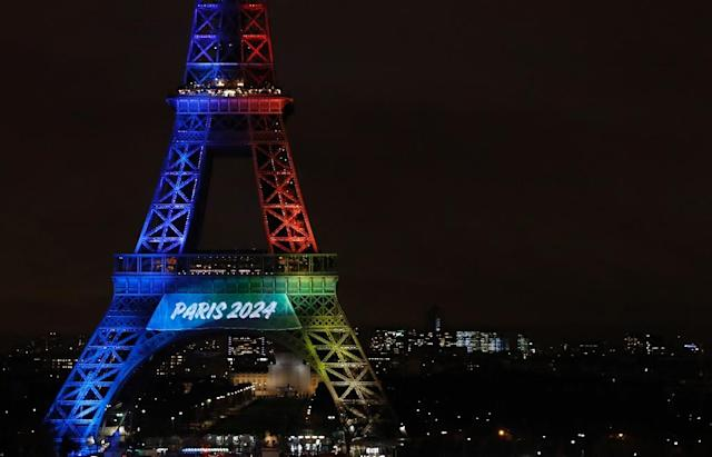 Paris is currently locked in a battle with Los Angeles for the 2024 Games in seven years (AFP Photo/Patrick KOVARIK)