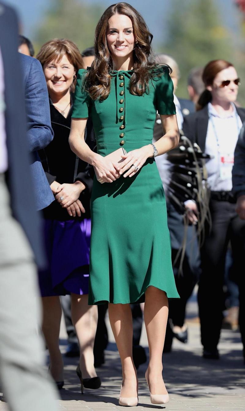 Kate Middleton has visited the school, where Prince George starts in September (Getty Images)