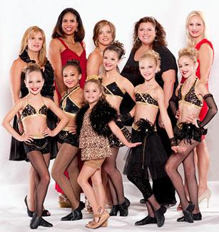 """We can't get enough of these """"Dance Moms"""" (Scott Gries/Lifetime Television)"""