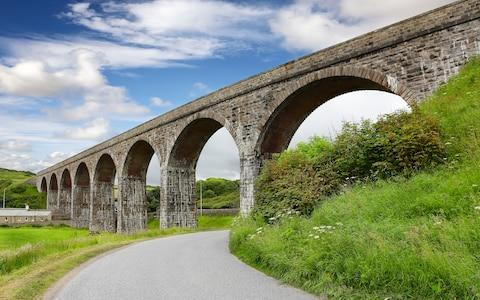 One of Cullen's viaducts, now part of a walking route - Credit: GETTY