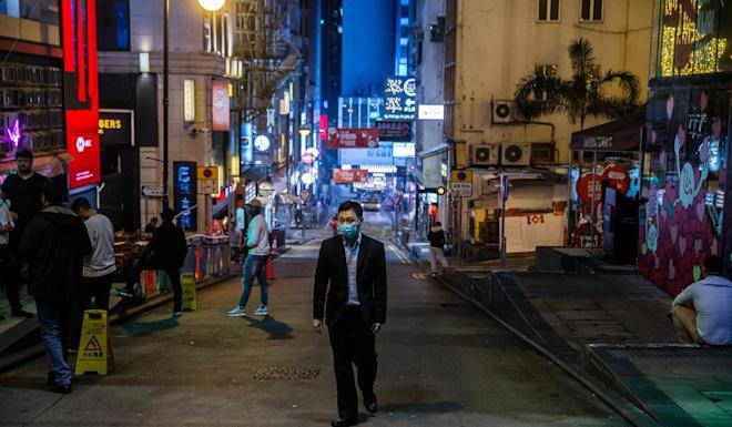 There is no proof that Lan Kwai Fong is particularly risky, health officials say. Photo: AFP