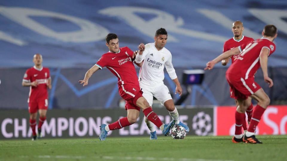 Real Madrid v Liverpool FC - UEFA Champions League Quarter Final: Leg One | Gonzalo Arroyo Moreno/Getty Images