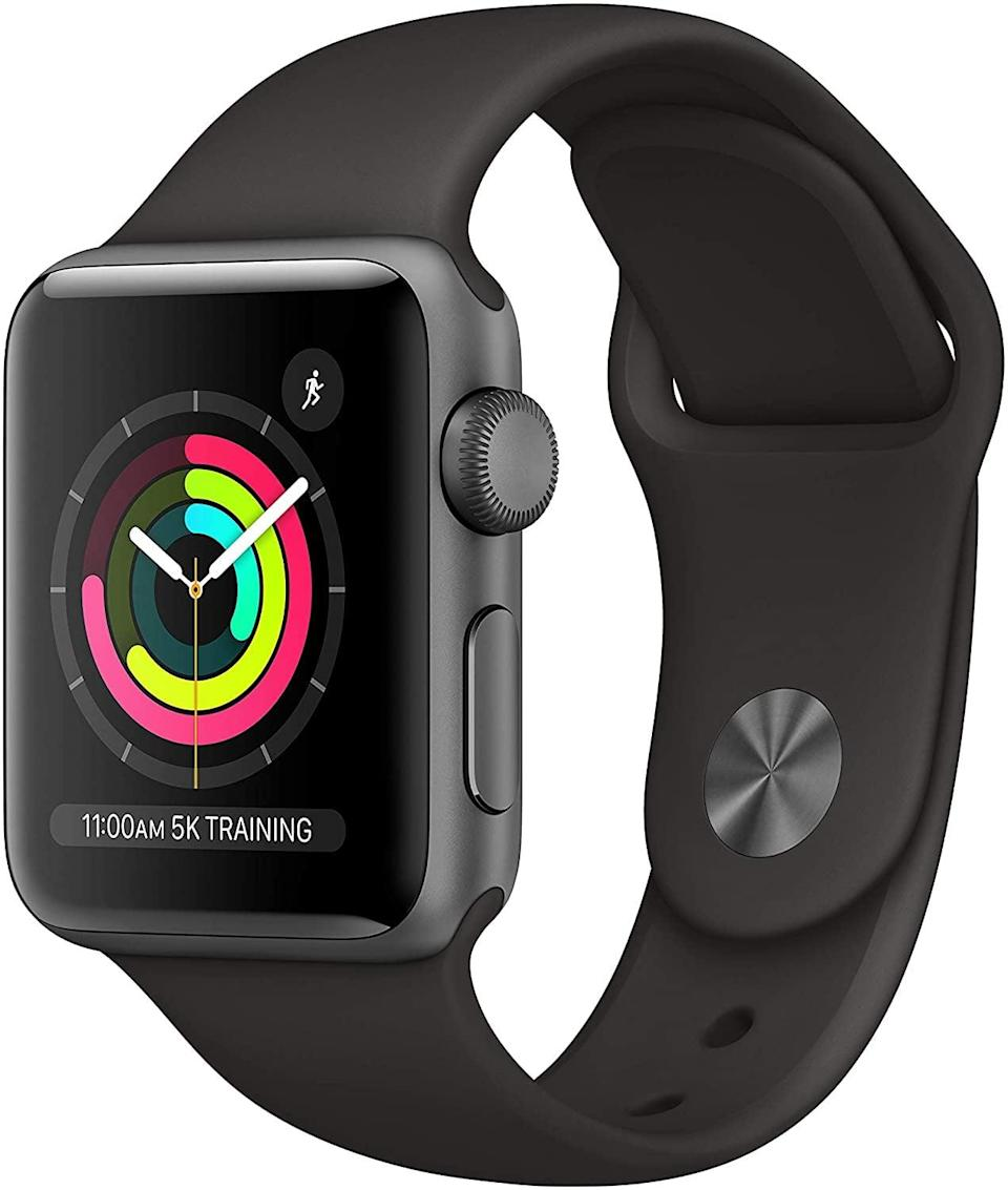 <p>The <span>Apple Watch Series 6</span> ($349, originally $399) is perfect for those with an iPhone. It makes and receives calls, tracks their exercise, and stores music, podcasts, and audiobooks! It's swimproof and even has an optical heart sensor and so much more.</p>