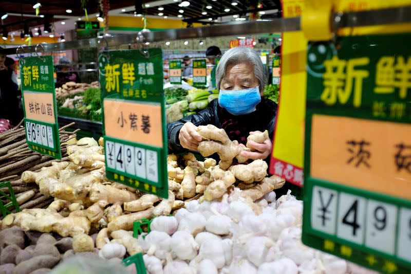 China's consumer inflation at eight-year high, but PPI stuck in the red