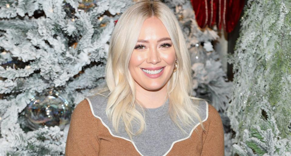 Hilary Duff. Image via Getty Images.