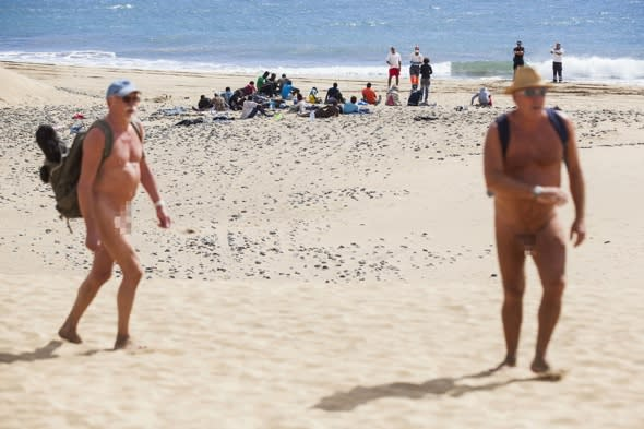 Ebola scare on Canary Islands nudist beach